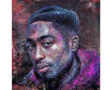 Touching Rapper Portraits