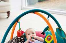 Practical Playmat Beds - Mamas & Papas' Babyplay 4-in-1 Playmat and Activity Gym is Fun and Engaging