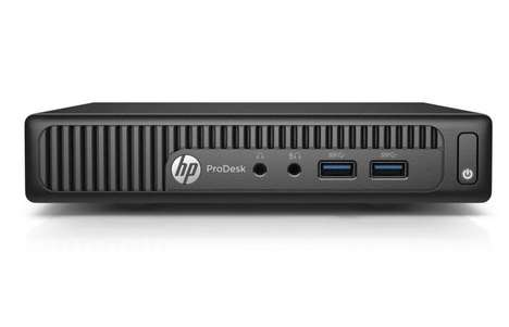 Router-Sized PCs - The HP ProDesk 400 G2 Mini is Powerful Yet Small Enough for a Desktop