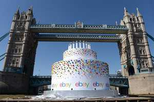 The eBay Birthday Cake Floated Down the River Thames
