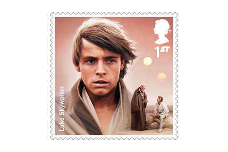 Limited Edition Sci-Fi Stamps - The Royal Mail Star Wars Stamp Collection Will Release Next Month
