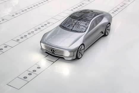 Shape-Shifting Cars - The Mercedes Concept IAA Changes Shape at High Speeds for Fuel Efficiently