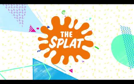 Nostalgic Television Channels - 'The Splat' by Nickelodeon Will Revive 90s Cartoon Series