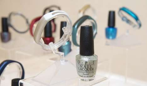 Activity-Based Nail Art - This Nail Polish Collection is Complements a High-Tech Accessory