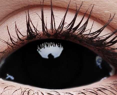 Spooky Black Contacts