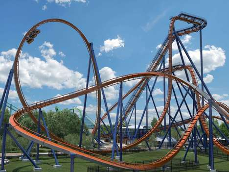 Record-Breaking Rollercoasters - The Valravn Dive Rollercoaster is Coming to Cedar Point in May 2016