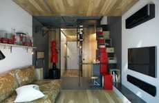 Charming Micro-Apartments - This Small Apartment Features an Efficient Design in 200 Square Feet