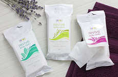 Emotion-Based Skincare - The Revive Body Essential Oil Face Wipes are Inspired by Aromatherapy