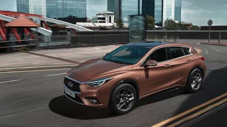 Powerfully Compact Crossovers - The Infiniti Q30 is Designed for City Dwelling and Rural Adventures
