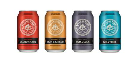 Premixed Canned Cocktails - These Mixed Drinks Offer Delicious Boozy Beverages for On-the-Go