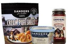 Restaurant-Inspired Ice Creams - The Sanders Chocolate & Ice Cream Launches Store-Brought Products