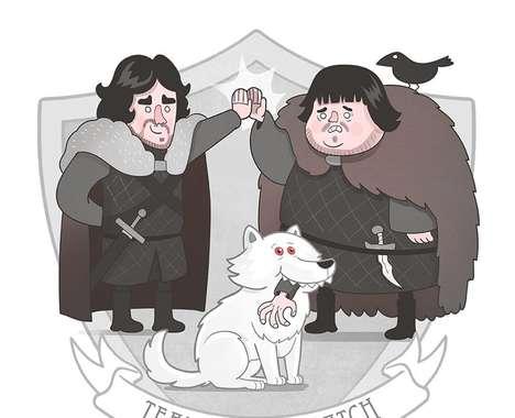 Medieval Team Illustrations