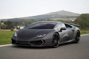This Lamborghini Carbon Fiber Car is High-Tech Inside and Out