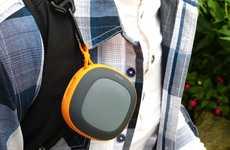 Vibrantly Designed Speakers - The Mockingbird Bluetooth Speaker Allows for Crisp Sound Anywhere