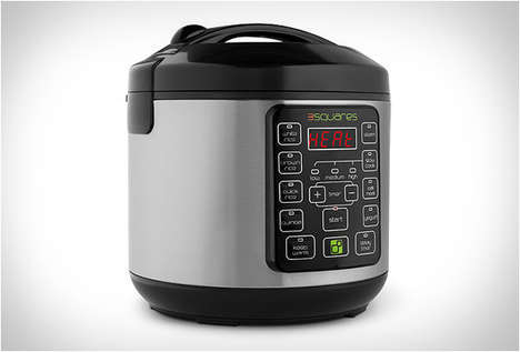 Smart Slow Cookers - The TIM3 MACHIN3 Helps Prep Meals Faster With Pre-Programmed Settings