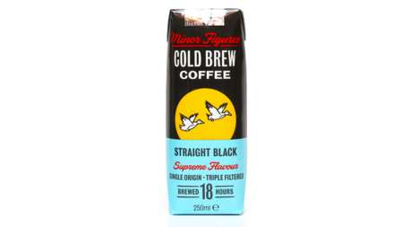 Cold Coffee Juiceboxes - Minor Figures' Cold-Brewed Coffee is Sold in Portable Tetra Pack Boxes