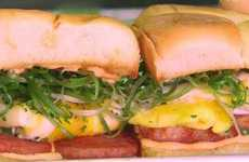 Hawaiian Breakfast Sandwiches - The EggSlut Eatery Makes Cheese-Free Egg Sandwiches