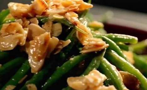 Mustard Bean Salad Dressings - This Fresh Green Bean Salad Recipe was Created by Chef Gordon Ramsay