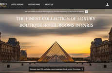 Luxury Hotel-Booking Platforms - This Service Allows Customers to Book Exclusive Hotel Suites