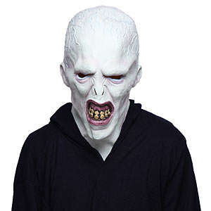 Villainous Wizard Masks - This Life-Like Costume Depicts Evil Lord Voldemort from Harry Potter