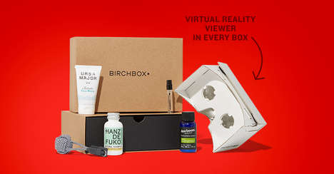 VR Beauty Subscriptions - These Birchbox VR Headsets Will Be Included in Birchbox Man Orders