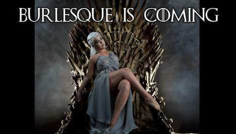 Risque Fantasy Productions - This Game of Thrones Burlesque is Full of Naughty Puns and Sword Fights