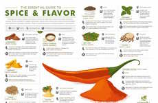 Seasoning Spice Guides - This Infographic Shows Food Lovers How to Use Spices for Perfect Flavor