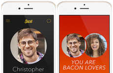 Bacon-Themed Dating Apps - The 'Sizzl' App Pairs Toghether Couples Based on Thier Love of Bacon