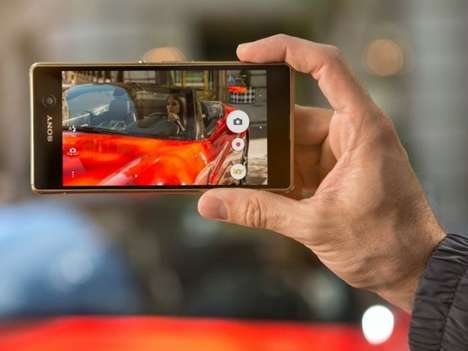 Powerful Processor Smartphones - The Sony Xperia M5 Dual Features the MediaTek Helio X10 Processor