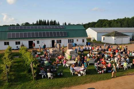 Converted Farm Pizzerias - This Family-Run Farm Serves Organic Pizza to Hungry Customers