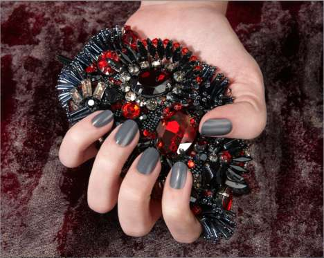 Opera-Themed Nail Colors - 'Operetta' by JINsoon Nail Polish Features the Luxe Hues of the Opera