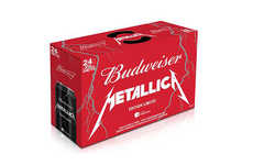 Musical Tribute Beers - The Band Metallica and Budweiser Unveiled Rocking Limited Edition Cans