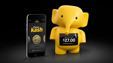 Piggy Bank Apps - Clever Kash is a Digital Piggy Bank That Lets Children Experience Tangible Wealth