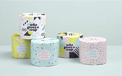 Charitable Toilet Papers - This Limited Edition Tissue Helps Build Toilets for Developing Countries