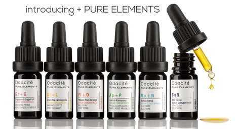 Scientific Serum Skincare - The Pure Elements Line of Face Products Feature High Oil Concentrations