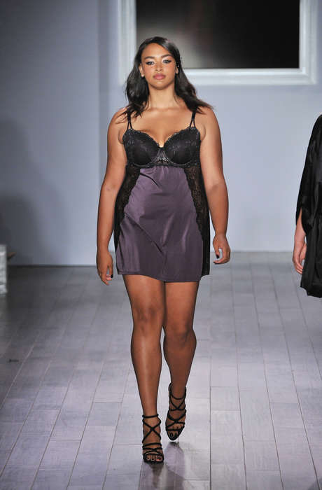 Body-Positive Lingerie Lines - Addition Elle Unveiled a New Plus-Size Line at Fashion Week