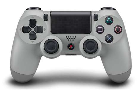 Celebratory Gaming Controllers - The PlayStation 4 20th Anniversary Dualshock 4 Controller is Iconic
