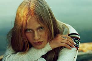 Camilla Christensen Poses in Equestrian Fashions for Elle Sweden