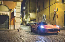 Villainous Luxury Cars - The 'Jaguar C-X75' was Redesigned for the Upcoming James Bond 'Spectre'