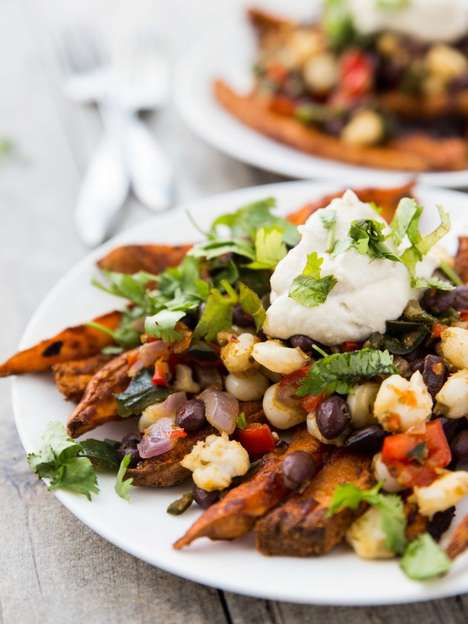 17 Nontraditional Nacho Dishes - From Grilled Pineapple Nachos to Vegan Yam Nachos