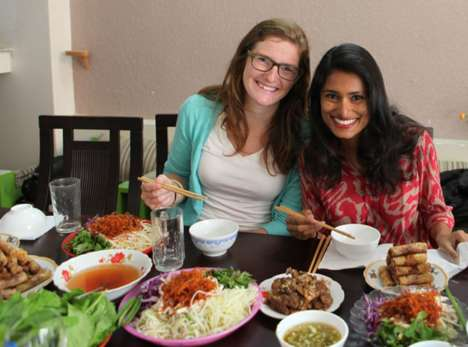 Global Meal-Sharing Platforms - This Service Allows Users to Enjoy a Home-Cooked Dinner Abroad