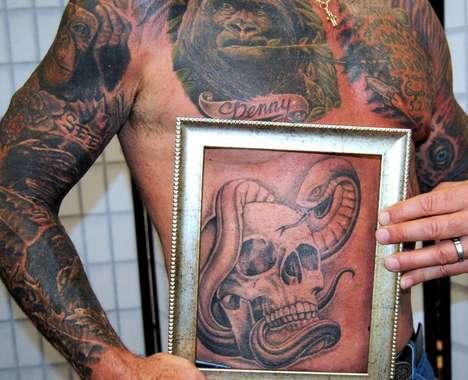 Postmortem Preserved Tattoos