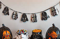 Sci-Fi Candy Bowls - These Star Wars Treat Baskets are Ideal for Serving Up Chocolates and Sweets