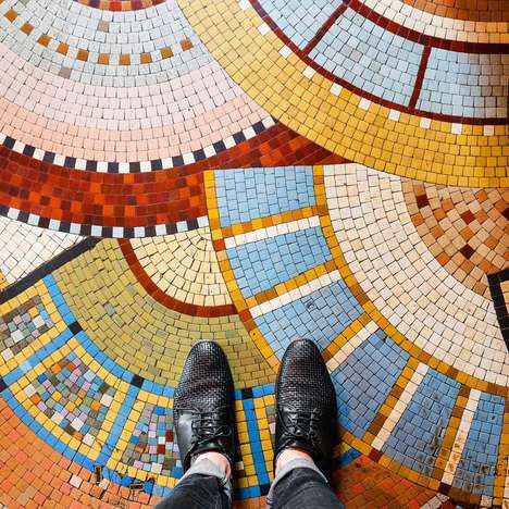 Parisian Floor Photography - This Photographer Takes Photos of Striking Floor Designs