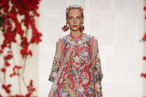 The Naeem Khan S/S Collection Promotes 1970s French Style