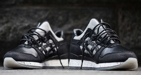 Split-Tongue Sneakers - ASICS' 'Nightmare' Anniversary Sneakers Feature Reflective Reptilian Designs