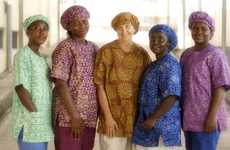 Community-Supporting Scrubs - This Company Supports Homeless Women in Rural Areas of Ghana