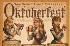 Beer Festival Disney Princesses