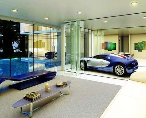 Luxury Car-Themed Houses