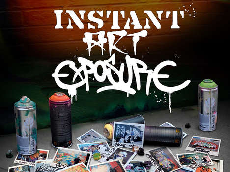 Graffiti Polaroid Books - 'Instant Art Exposure' Documents the Street Art of New York and Miami